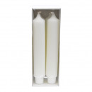 Bar candle with Zapf foot, height 250mm